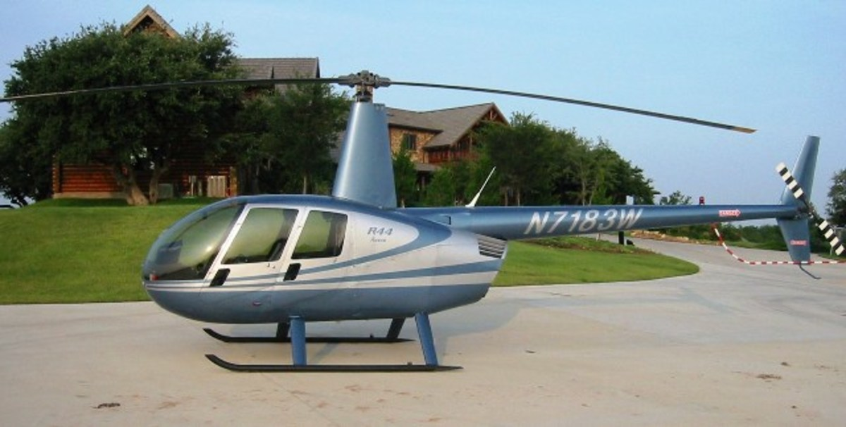 Robinson R22 is a two-bladed, single-engine light utility helicopter manufactured by Robinson Helicopter.