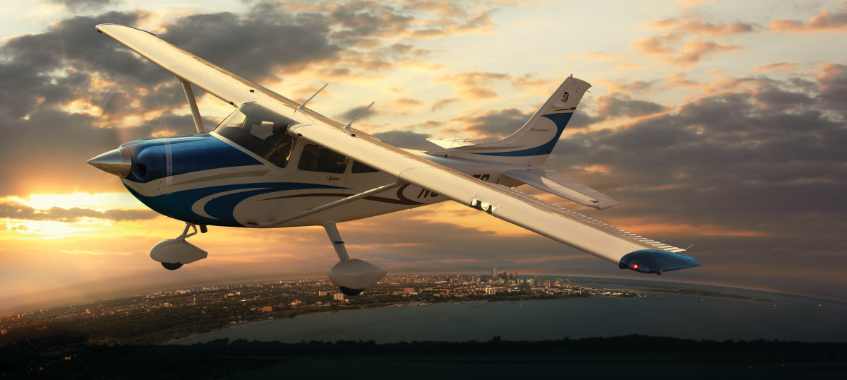 Cessna 172 Skyhawk is a four seat, single engine, high wing, fixed-wing aircraft made by the Cessna Aircraft Company.