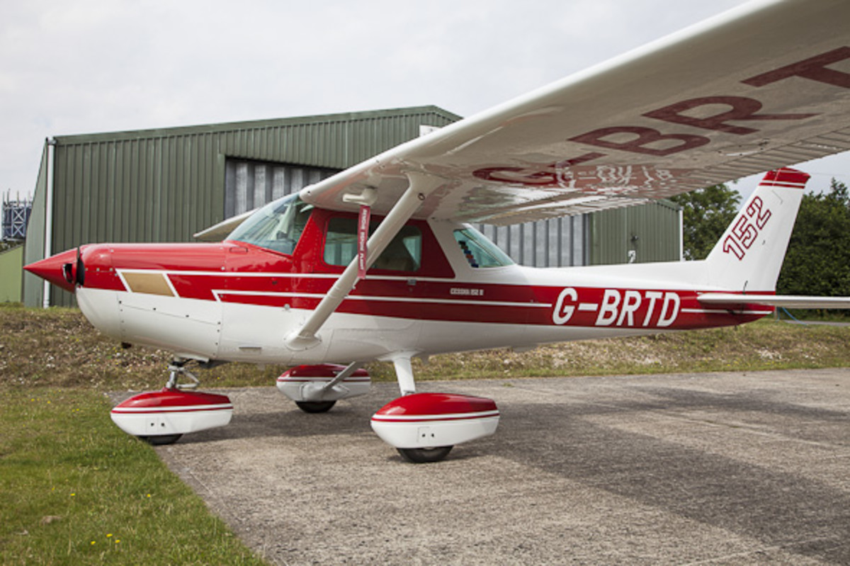 Cessna 150 and 152 became the most popular civilian training aircraft after World War II, as well as economical recreational vehicles for weekend pilots.