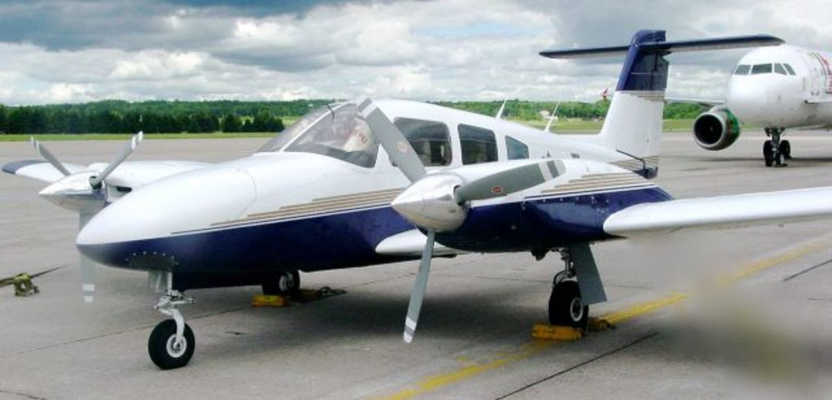 Piper PA-44 Seminole is an American twin-engined light aircraft manufactured by Piper Aircraft.