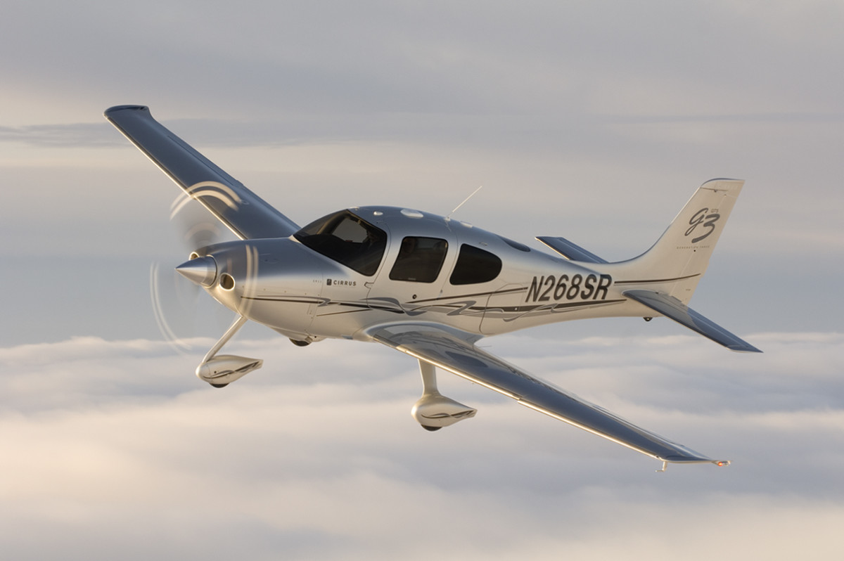 Cirrus SR22 is a single-engine, originally four and later five-seat, composite aircraft built by Cirrus Aircraft starting in 2001.