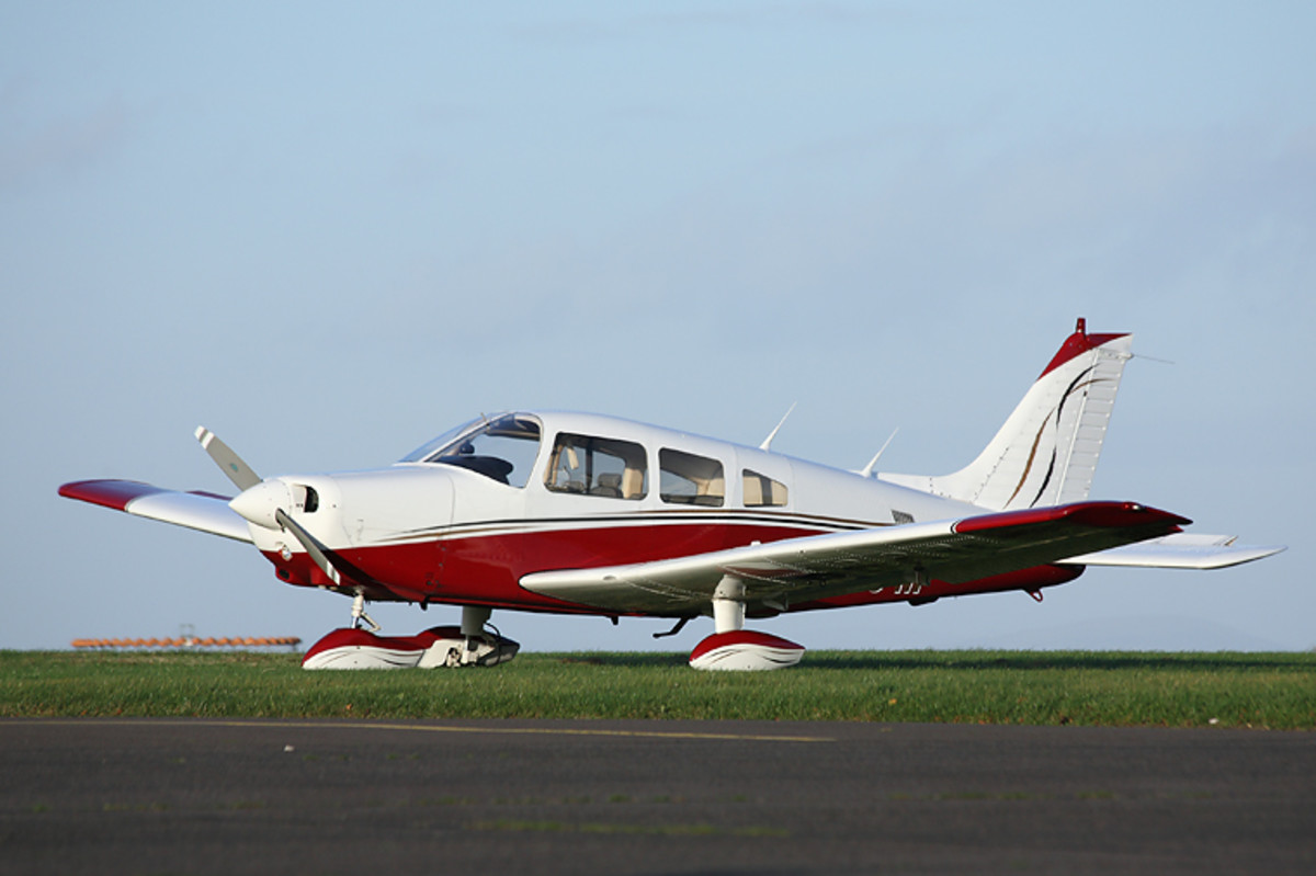 Piper PA-28 Cherokee is a family of light aircraft designed for flight training, air taxi, and personal use. It is built by Piper Aircraft.