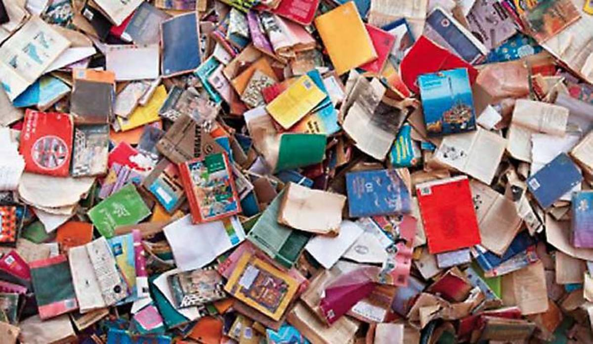 Dumped Text Books In South Africa..The destruction of these books raises serious questions about why proper care was not taken to ensure that they were delivered to schools on time at the beginning of the year. These books deliberately destroyed