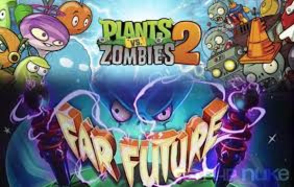 Far Future plants and zombies