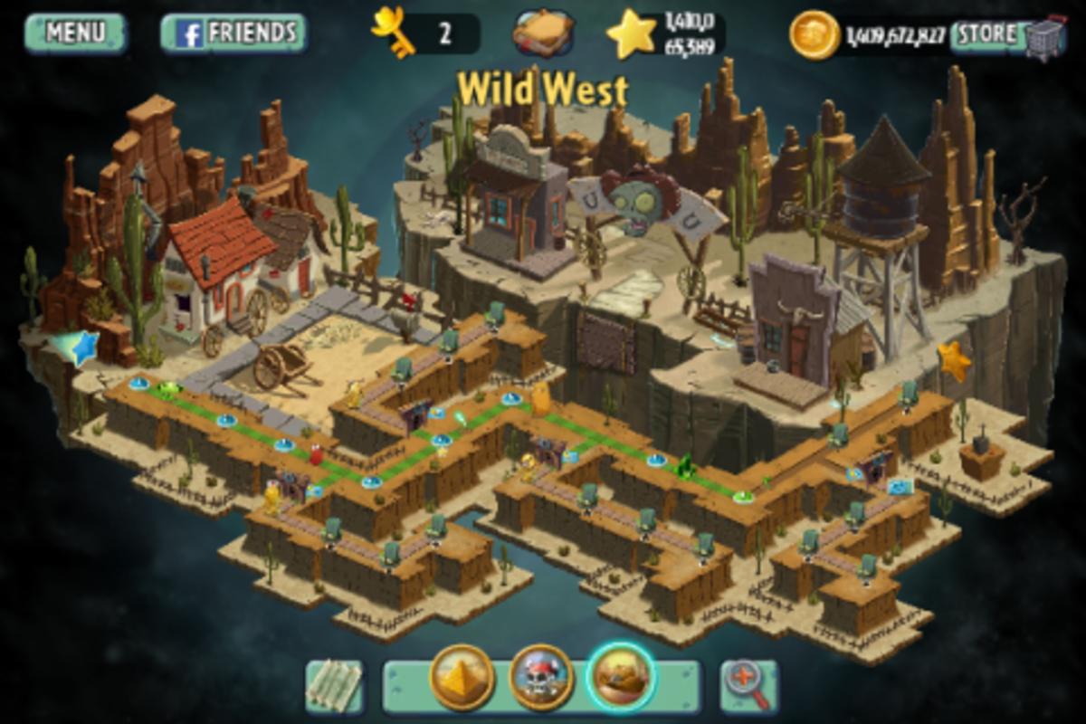 Wild West's map