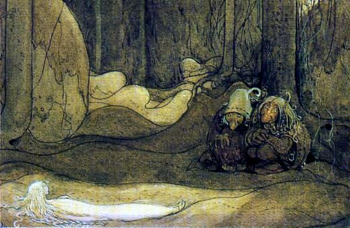 """The Changeling"" by John Bauer"