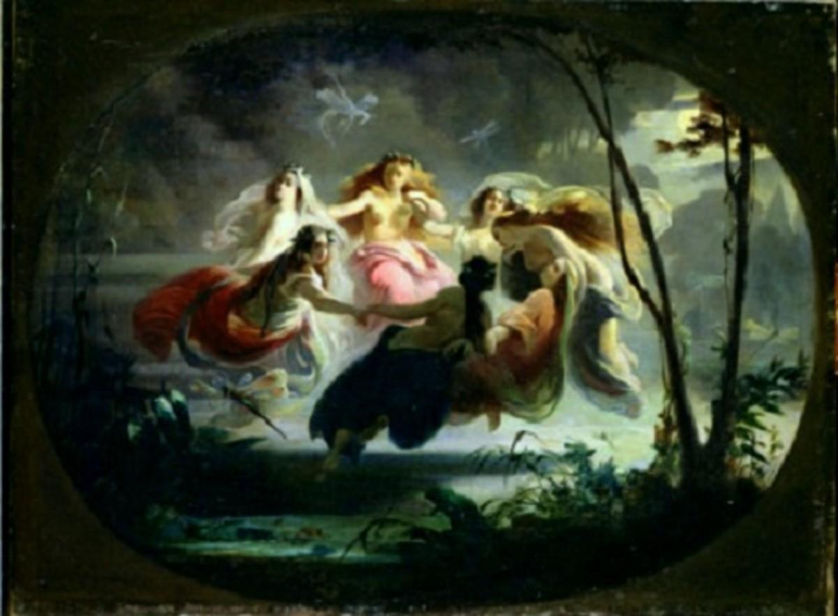 """The Fairy Dance"" by Robert Alexander Hillingford"