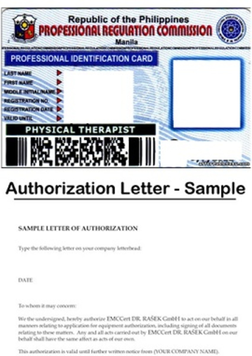 Sample PRC license