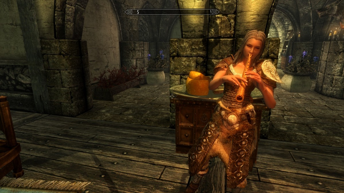 Opulent Outfits replaces clothing in Skyrim for mages, maids and merchants to a very high standard. Picture courtesy of Skyrim Nexus, Bethesda and Zenimax.