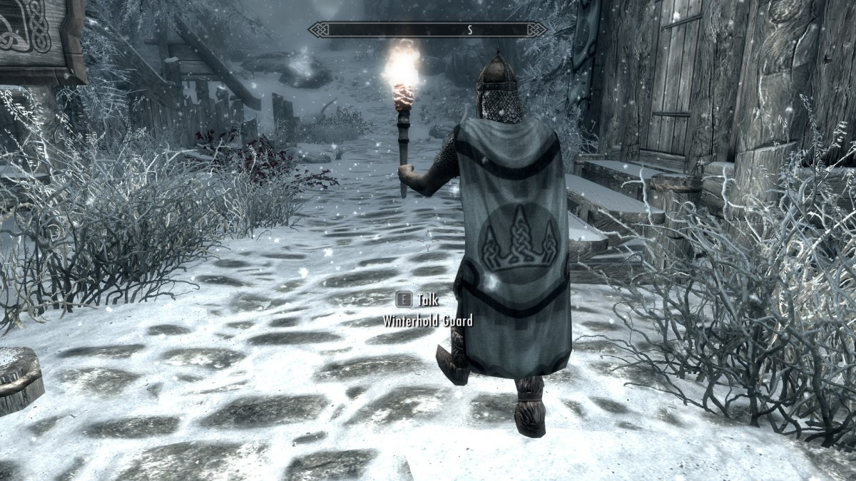 A cloak from Noodles Cloaks of Skyrim mod. Picture courtesy of Skyrim Nexus, Bethesda and Zenimax.
