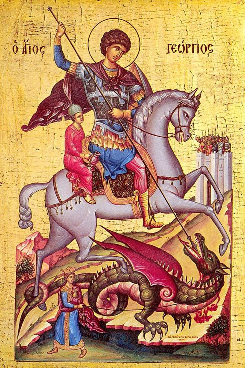 Icon of Saint George by Orlovic