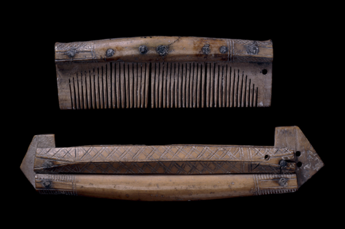 A Viking Comb Made From Deer Antler