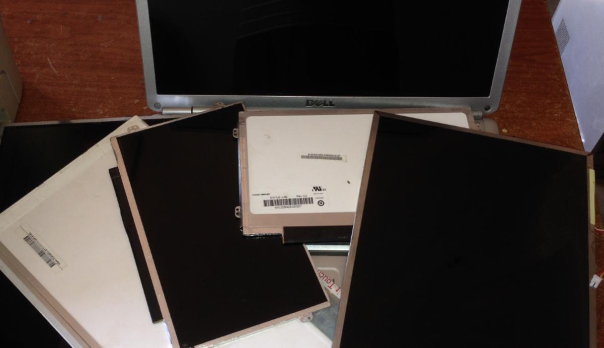 Dead laptop screens