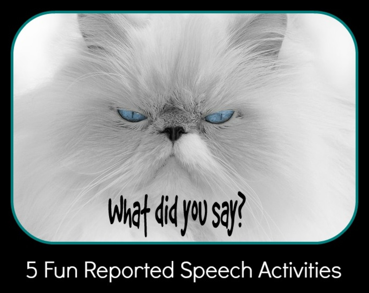 5 Fun Activities for Practising Reported Speech