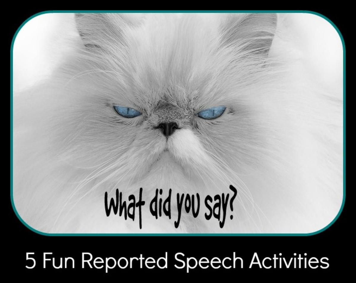 5 Fun Activities for Practising Reported Speech