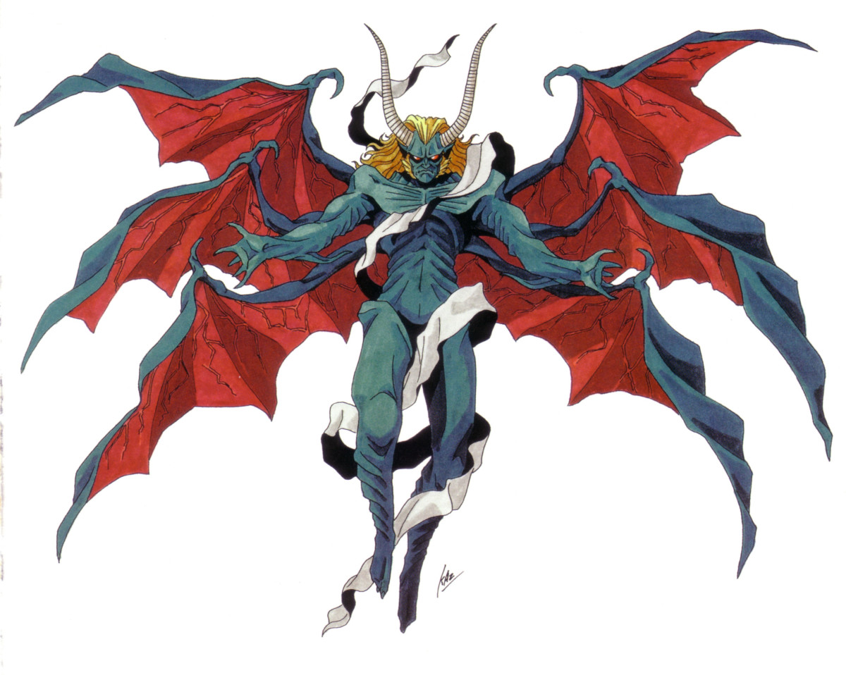 One depiction of the Devil. Awesome, but this was a video game, so he won't be talked about.