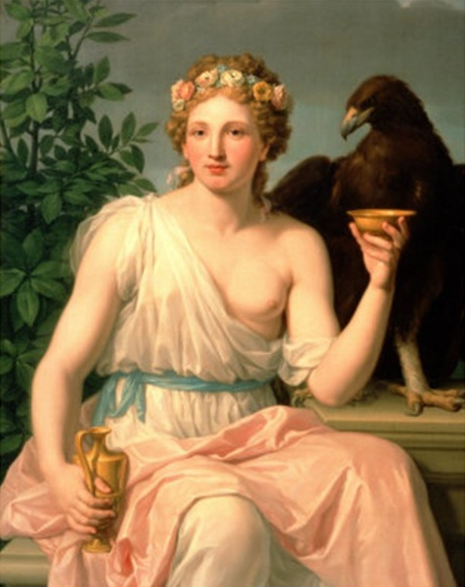 Hebe Wife of Heracles - Francisco Javier Ramos y Albertos (1744-1817) - PD-art-100