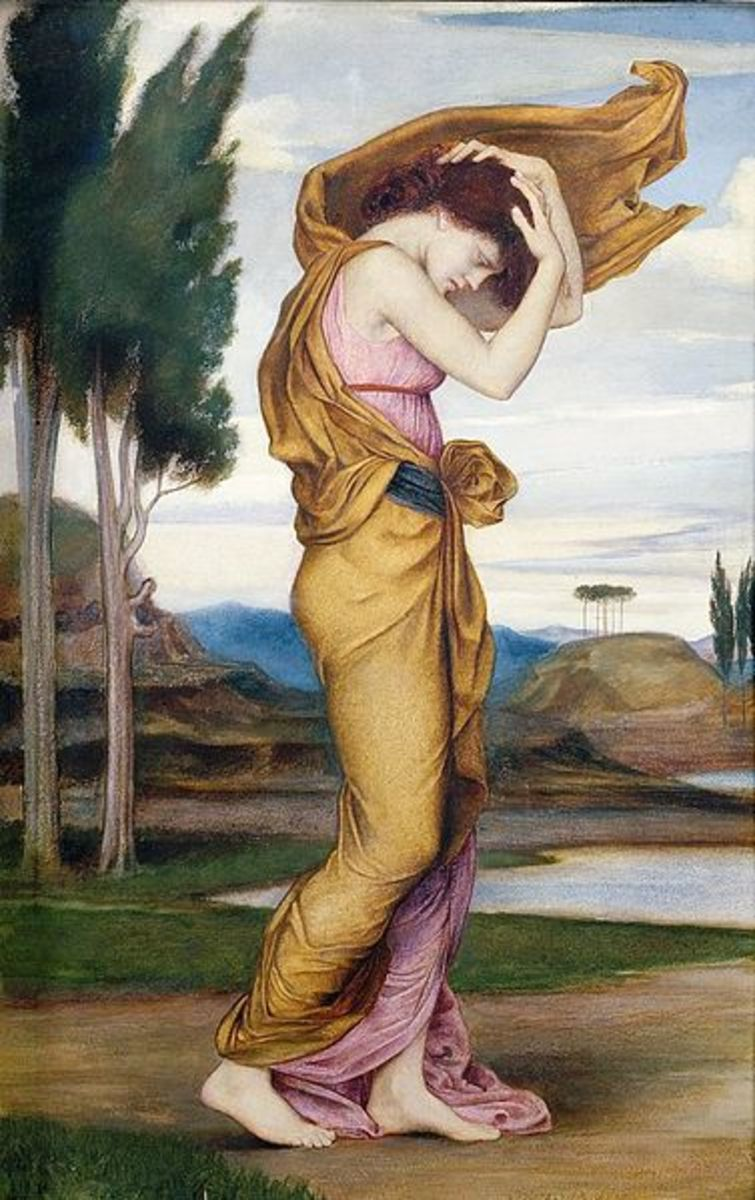 Deianera Wife of Heracles - Evelyn De Morgan (1855–1919) - PD-art-100