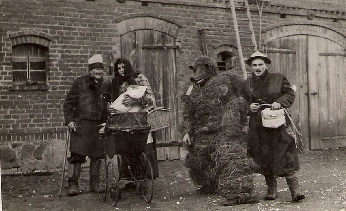 Mummers in Poland on Shrove Tuesday