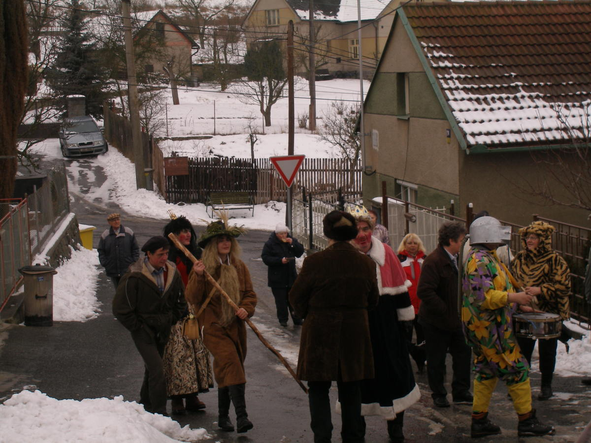 Mummers in modern times in the Czech Republic