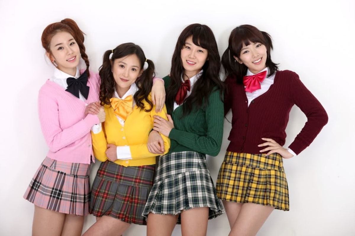 National Treasure Girls