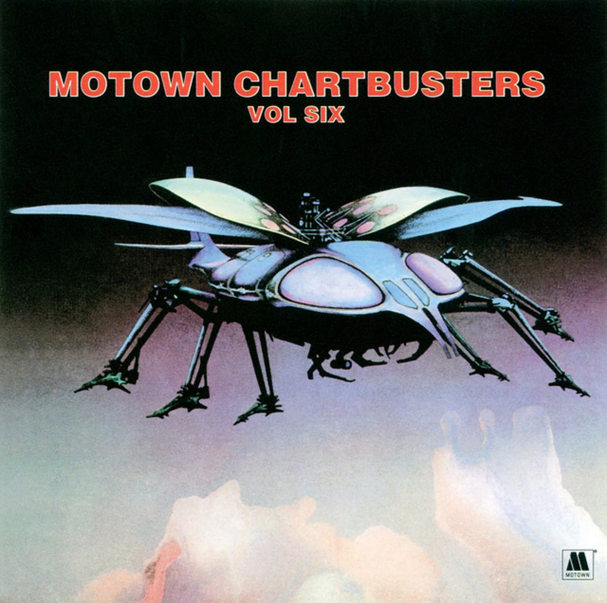 "Various Artists: Motown Chartbusters, Vol. Six Tamala / Motown STML 11191 12"" LP Vinyl Record, US Pressing (1971) Album Cover Art & Design by Roger Dean"