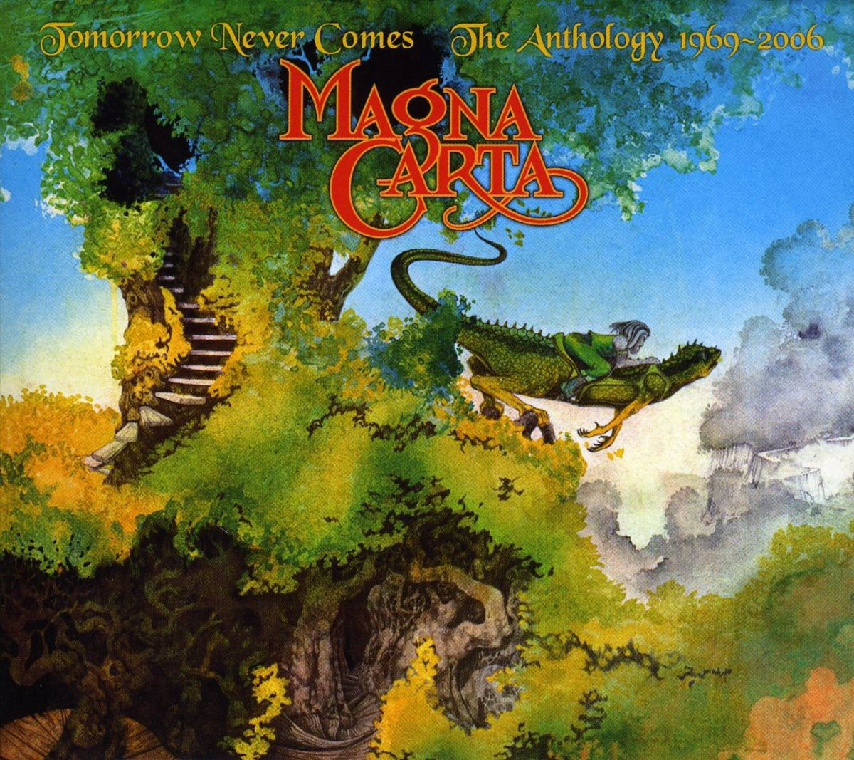 "Magna Carte ""Tomorrow Never Comes"" Repertoire Records REPUK 1103 Compact Disc UK Pressing (2007) CD Album Cover Art & Design by Roger Dean"