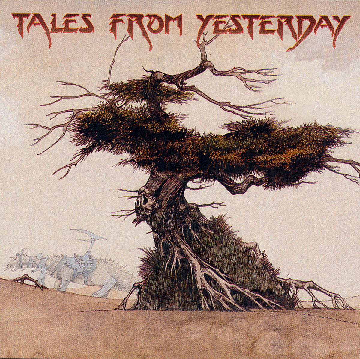 "Various Artist ""Tales From Yesterday"" Magna Carta MA-9003-2 Compact Disc US Pressing (1995) CD Album Cover Art by Roger Dean"