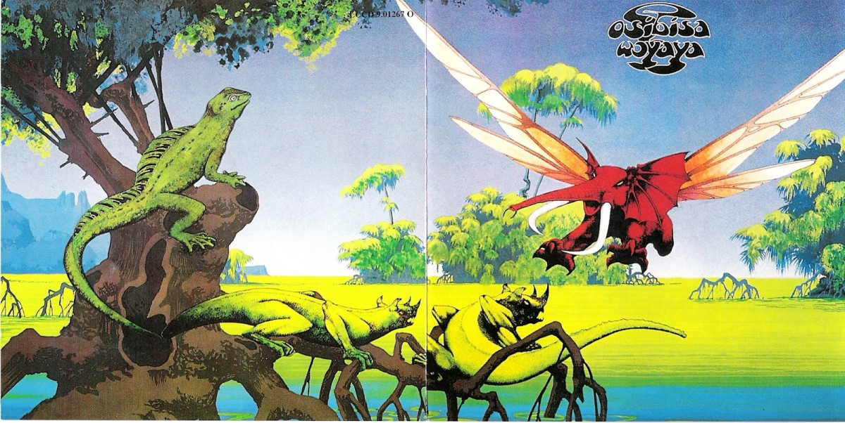 "Osibisa ""Woyaya"" Open Gatefold Album Cover Art (1971)"