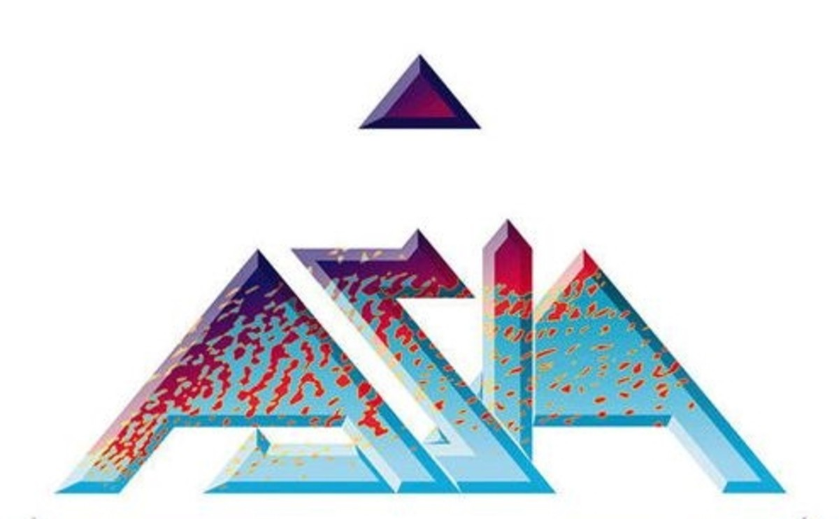 Asia Logo by Roger Dean