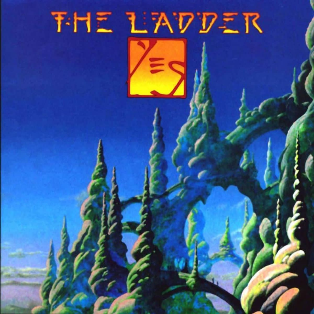"Yes ""The Ladder"" Eagle Records EDG12088 2-12"" LP Vinyl Record Set, UK Pressing (1999) Album Cover Art & Design by Roger Dean"