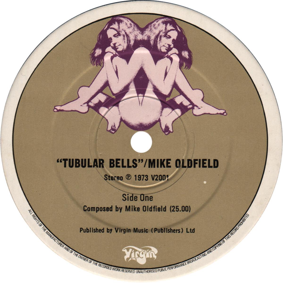 "The Third Label Variation of the Virgin Records ""Gemini"" Logo"
