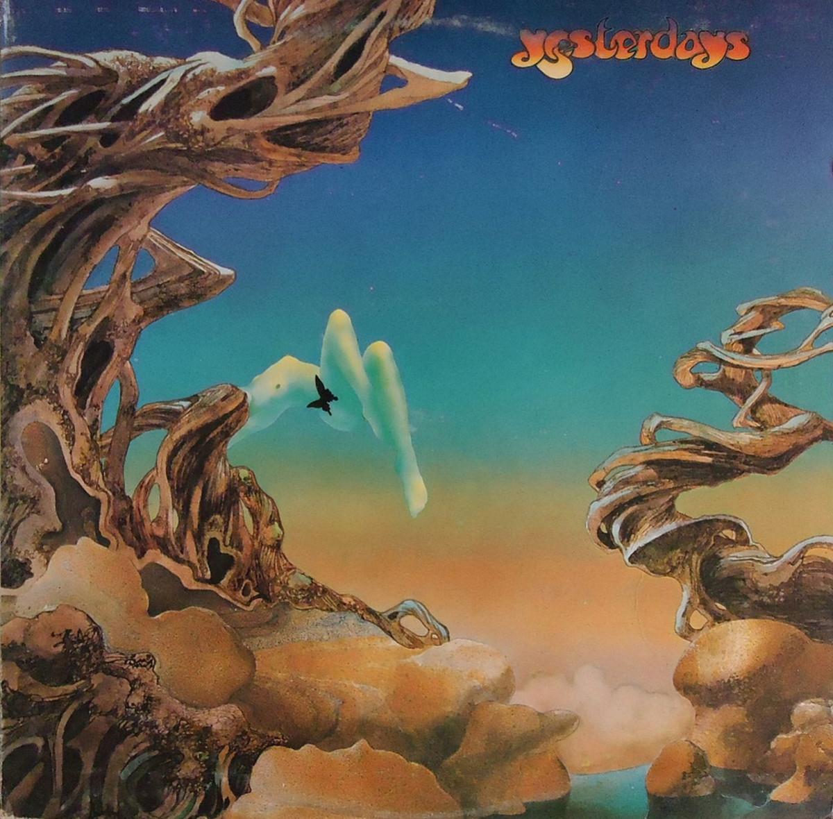 "Yes ""Yesterdays"" Atlantic Records SD 18103 12"" LP Vinyl Record, US Pressing (1975) Gatefold Album Cover Art & Design by Roger Dean"
