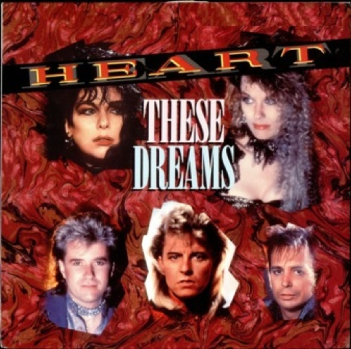 "Single Sleeve for ""These Dreams""."