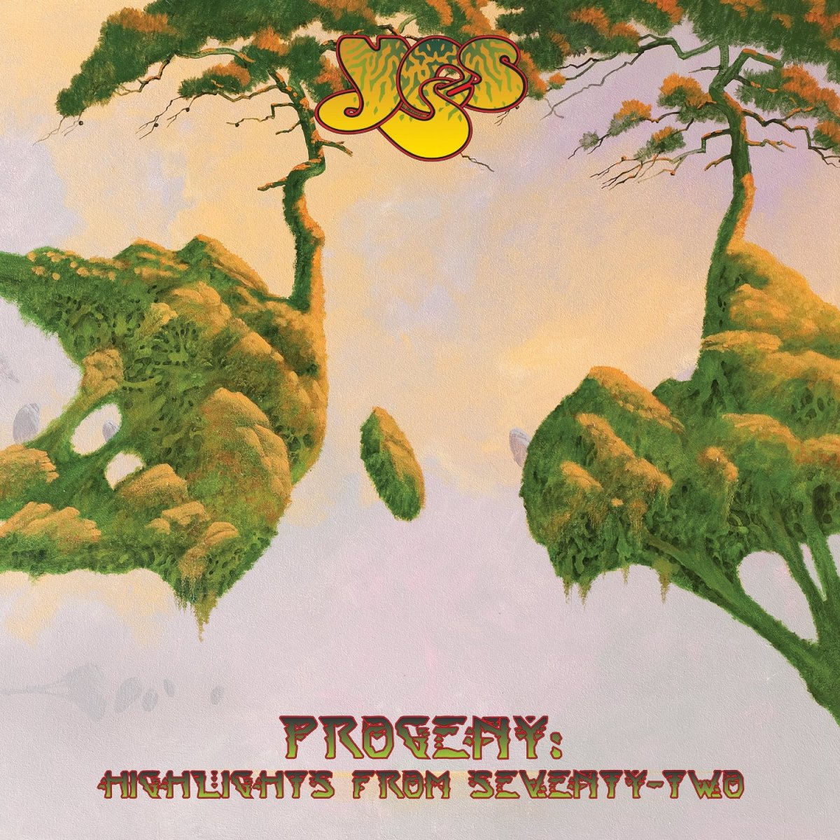 "Yes ""Porgeny: Highlights from Seventy-Two"" Atlantic Records 241104 3-12"" LP Vinyl Record Set, US Pressing (2015) Album Cover Art by Roger Dean"