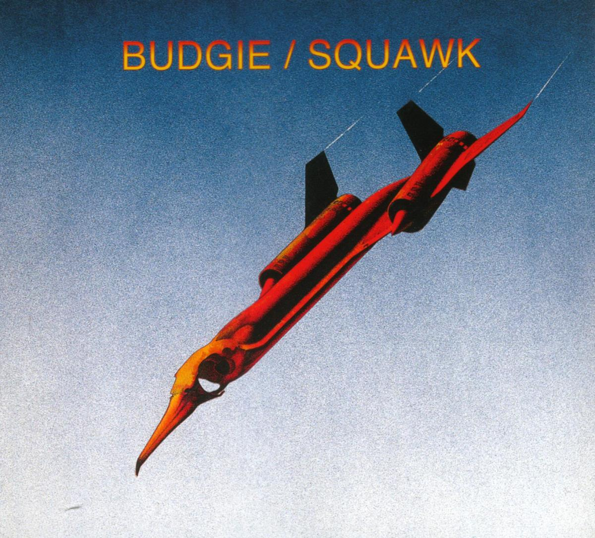 "Budgie ""Squawk"" Kapp Records KS-3669 12"" Vinyl Record, US Pressing (1972) Album Cover Art & Design by Roger Dean"