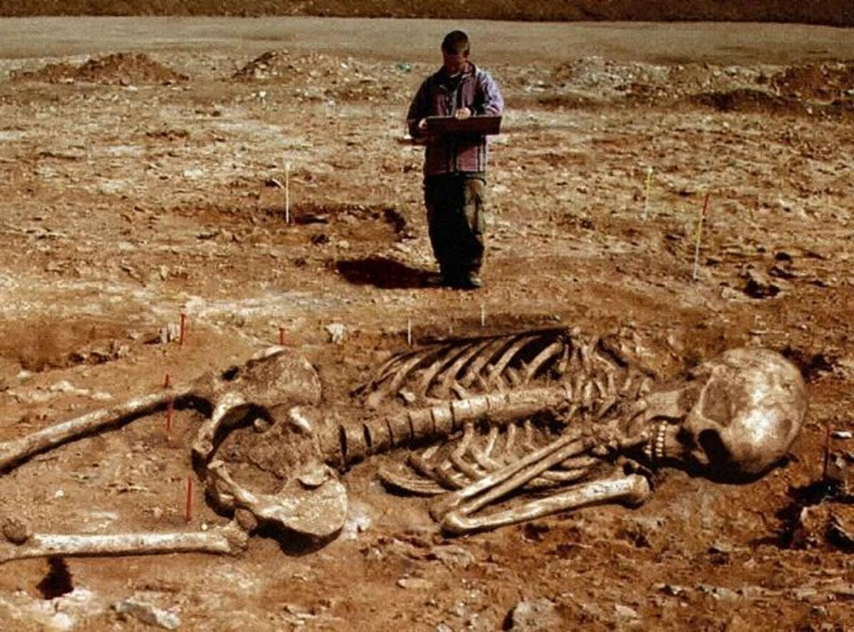 If these discoveries of giant skeletons were just isolated incidents it would be easy to considered them a hoax but when over a thousand different giant skeleton remains have been documented it becomes much more difficult to accept as hoaxes.