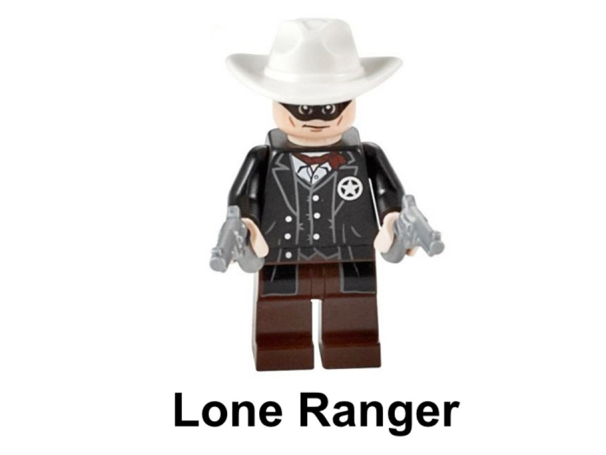LEGO The Lone Ranger's Pump Car 30260 Lone Ranger Minifigure