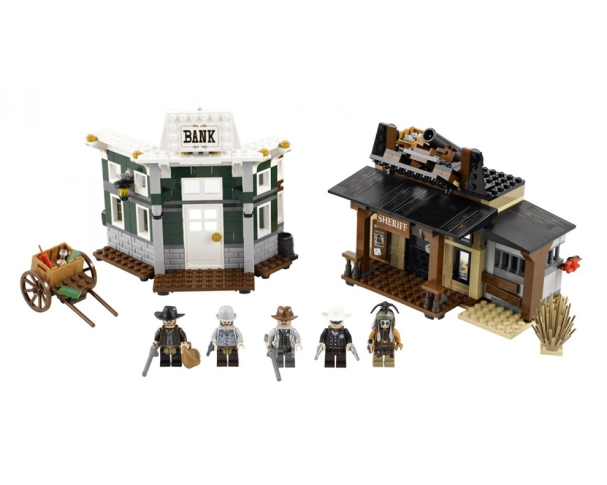 LEGO The Lone Ranger Colby City Showdown 79109 Assembled Front