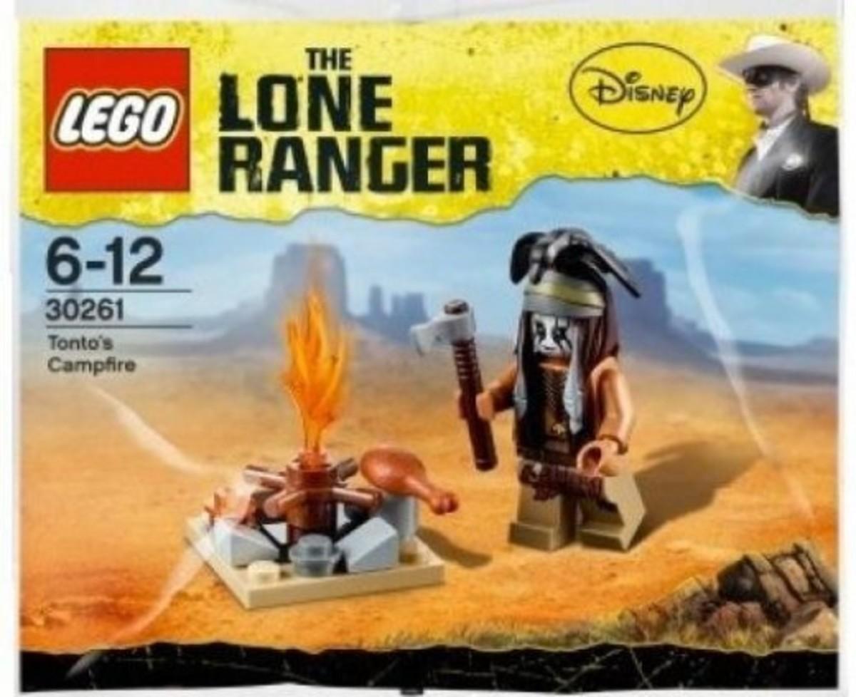 LEGO The Lone Ranger Tonto's Campfire 30261 Polybag