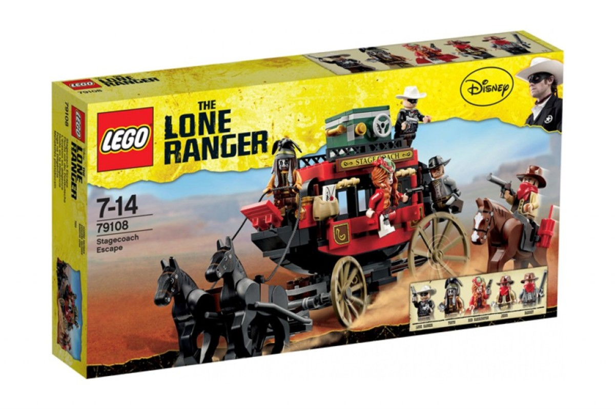 LEGO The Lone Ranger Stagecoach Escape 79108 Box