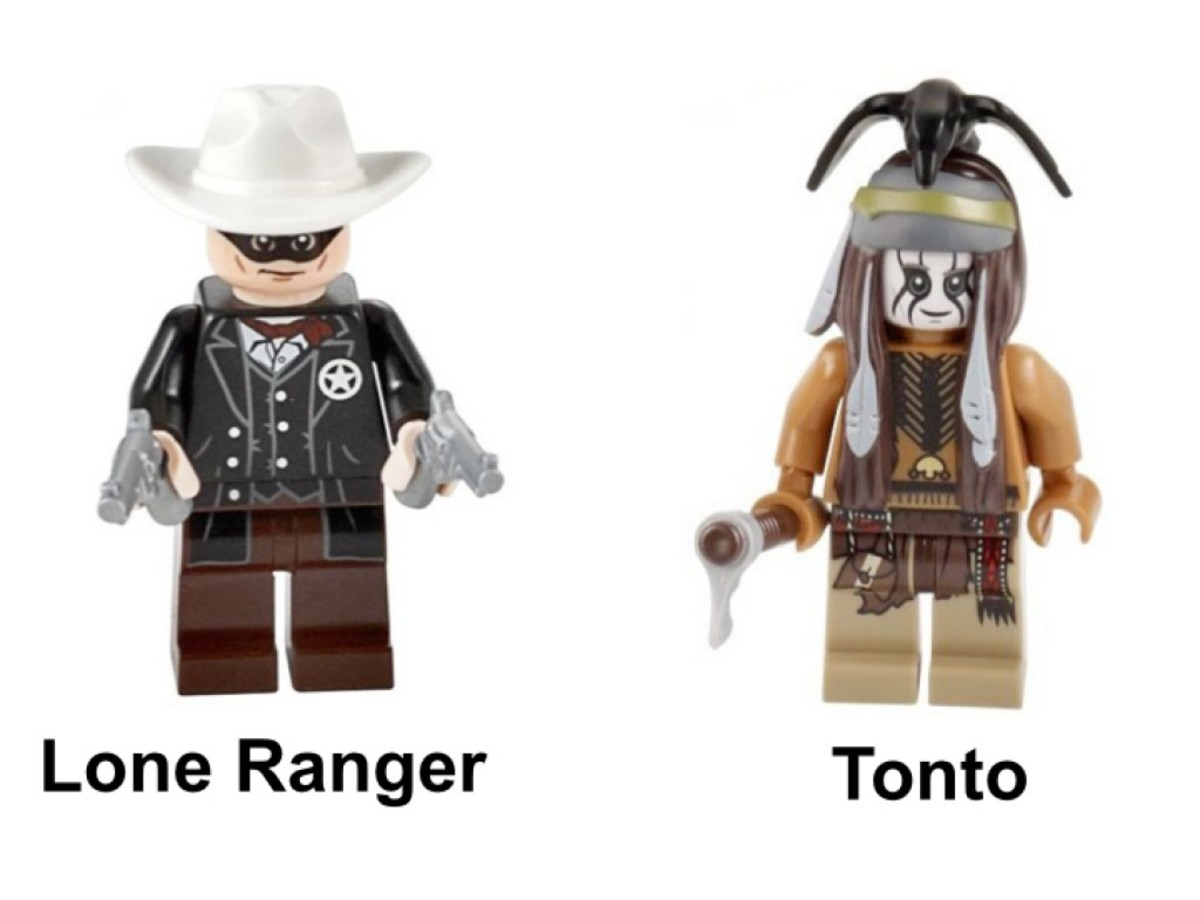 LEGO The Lone Ranger Constitution Train Chase 79111 Minifigures