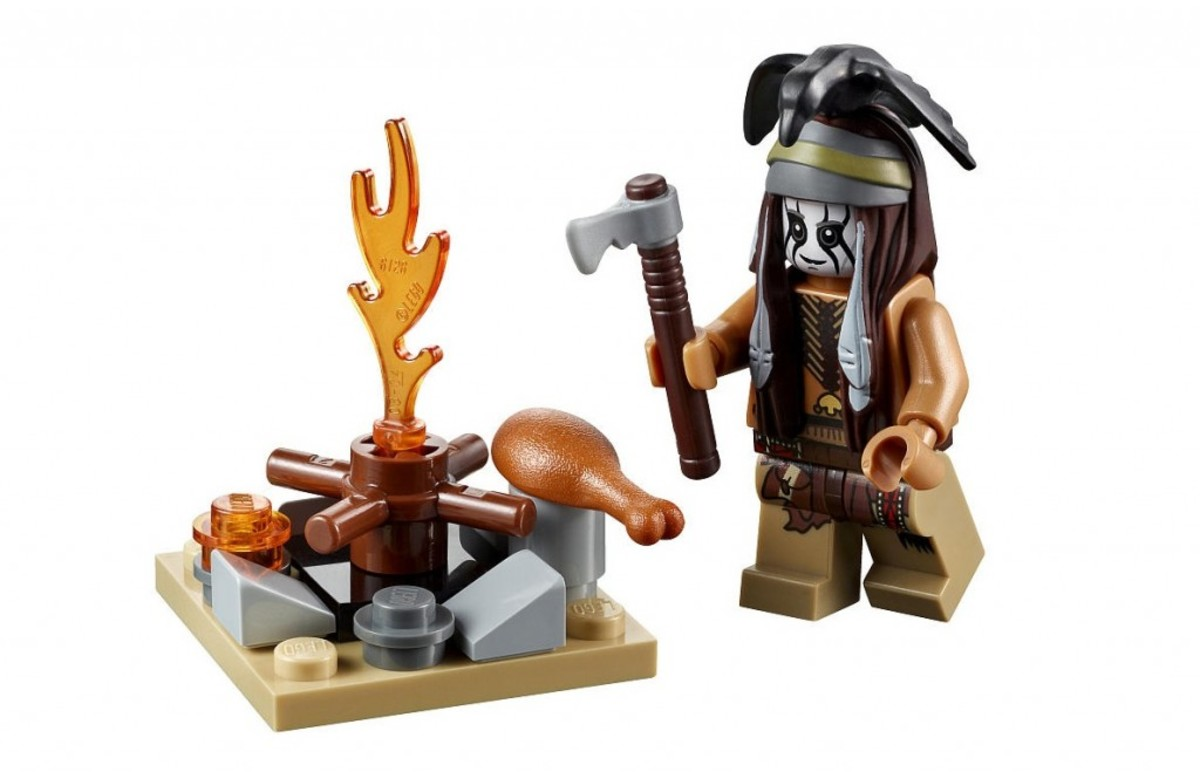 LEGO The Lone Ranger Tonto's Campfire 30261 Assembled
