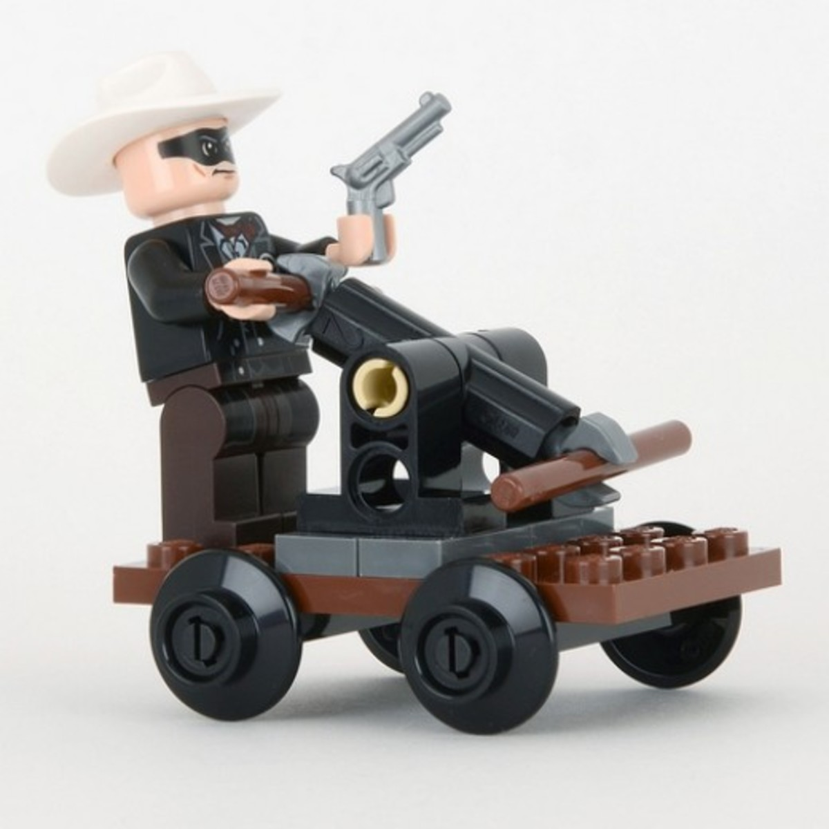LEGO The Lone Ranger's Pump Car 30260 Assembled