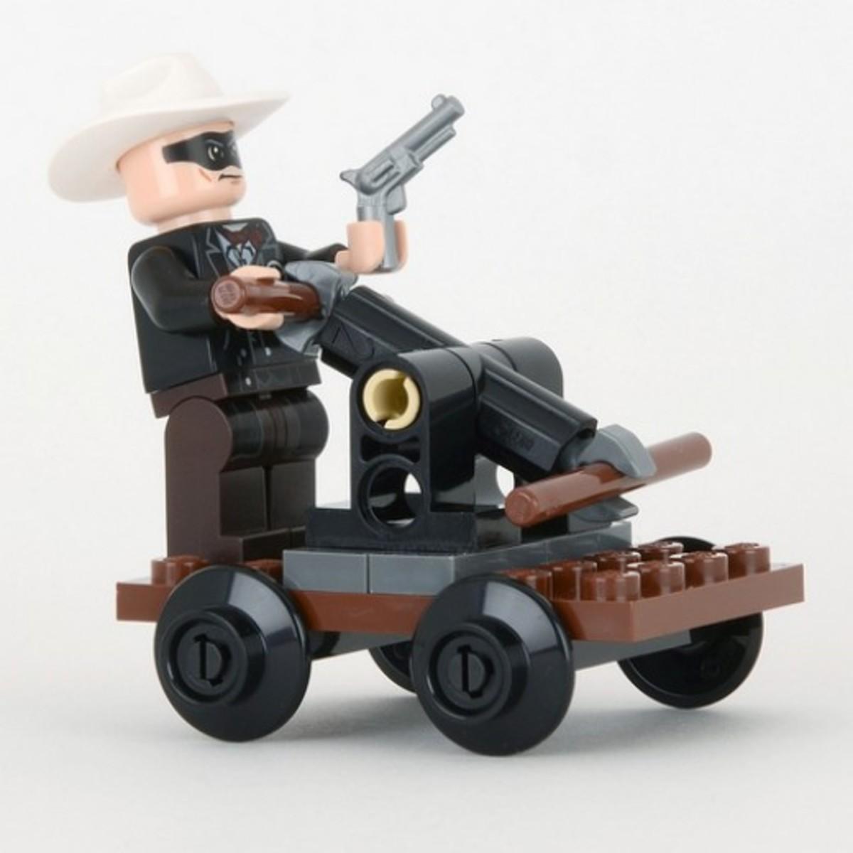 LEGO The Lone Ranger's Pump Car 30260 Assembled