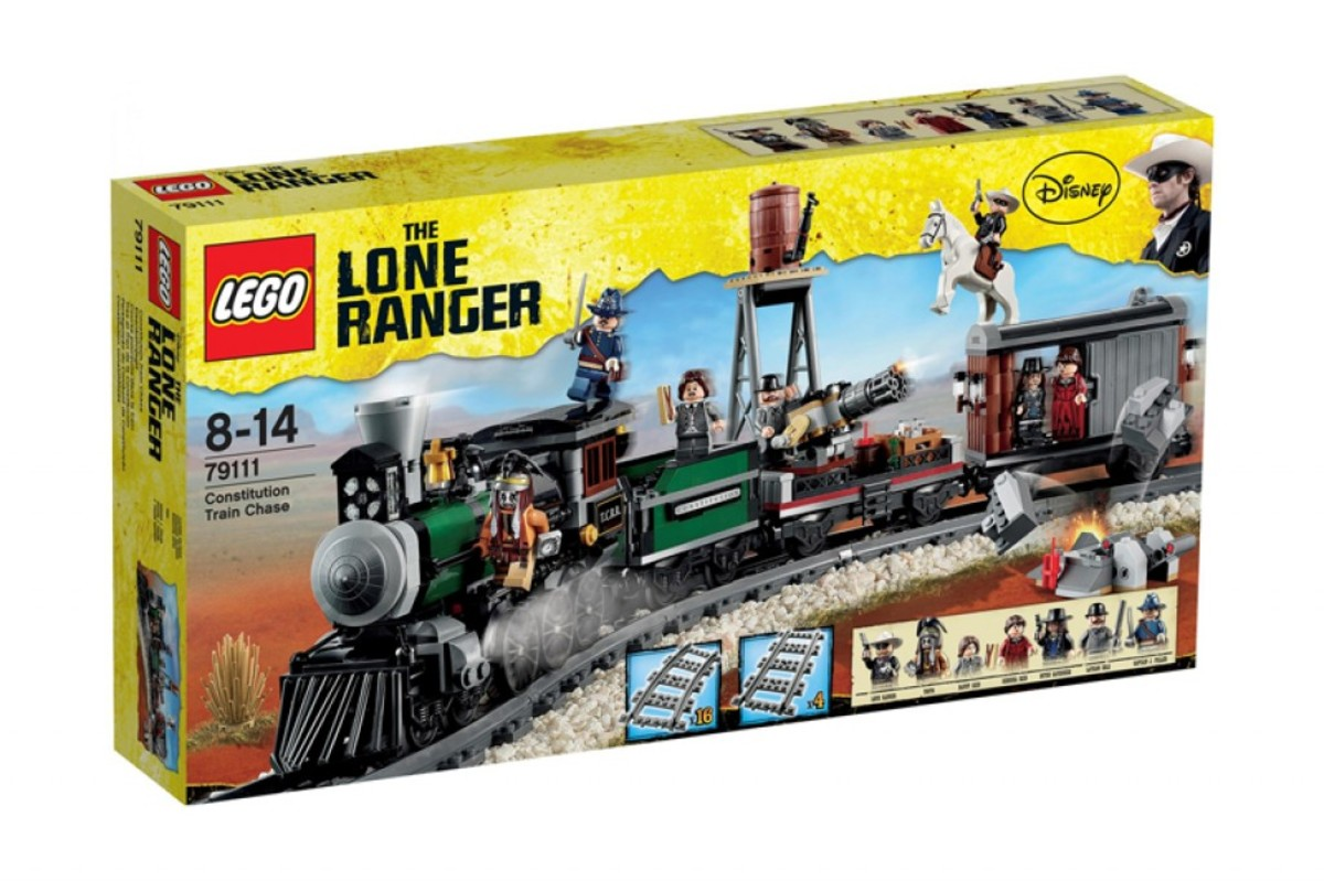 LEGO The Lone Ranger Constitution Train Chase 79111 Box