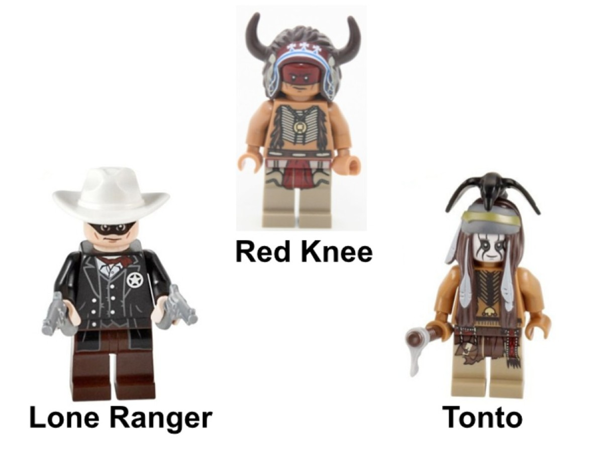 LEGO The Lone Ranger Comanche Camp 79107 Minifigures