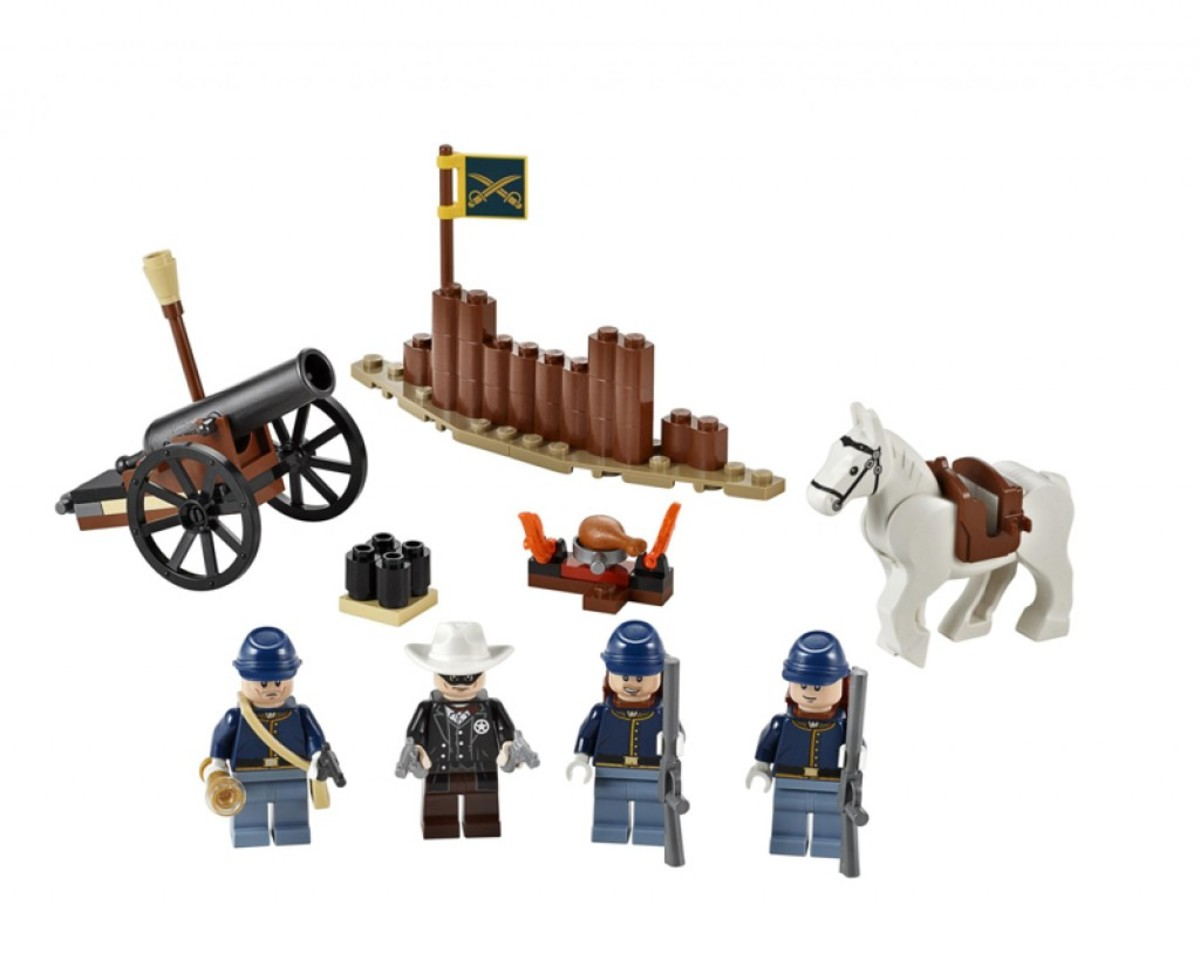 LEGO The Lone Ranger Cavalry Builder's Set 79106 Assembled