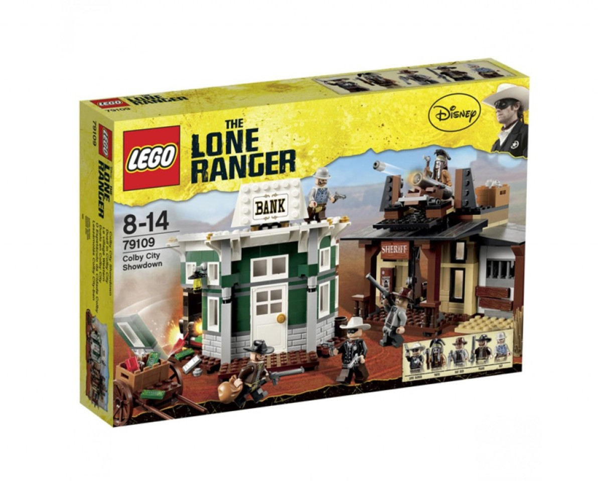 LEGO The Lone Ranger Colby City Showdown 79109 Box