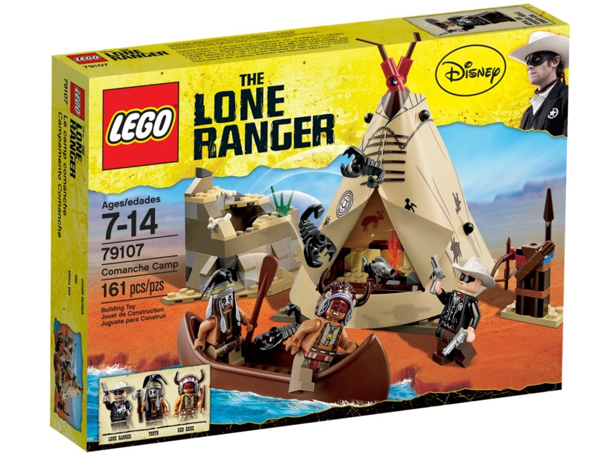 LEGO The Lone Ranger Comanche Camp 79107 Box